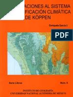 Sistema Climatico Koppen