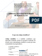 Artigos Científicos e Meios de Publicação