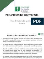Exploracion Geotécnica de Obras