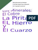 Los Minerales Quimica