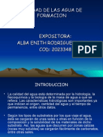 CALIDAD DE LAS AGUA DE FORMACION.ppt