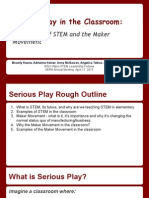 serious play in the classroom aera presentation