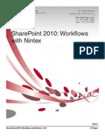 SharePoint Nintex Material