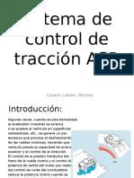 Sistema de Control de Traccion Asr