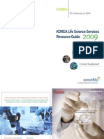 Korea Lifescience Resource Guidebook2009