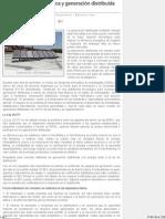Energía Solar Fotovoltaica y Generación Distribuida en Chile