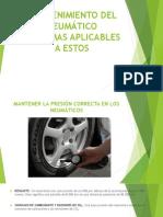 Mantenimiento Del Neumático
