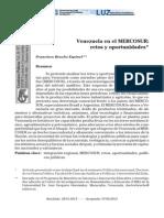 Venezuela en El MERCOSUR