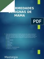 enfermedades Benignas de Mama