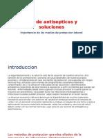 Uso de Antisepticos y Soluciones