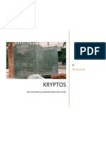 Kryptos The Most Famous Unsolved Codes in The World