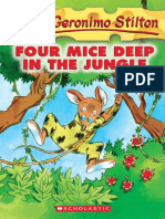 Geronimo Stilton - Four Mice Deep in the Jungle (Geronimo Stilton #5)
