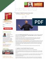 9 Rahasia Teknik Presentasi Steve Jobs - Presentasi Powerpoint Yang Efektif, Kreatif Dan Profesional