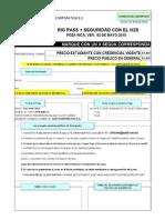 Formato de Inscripcion Rig Pass h2s Poza Rica 02 Mayo 2015