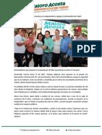 15-05-15 Panistas confían en Maloro Acosta y se comprometen a apoyar el ¡Hermosillo Con Todo!