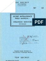 Secret Intelligence Field Manual