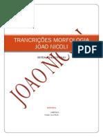 TRANCRIÇÕES MORFOLOGIA digestoria