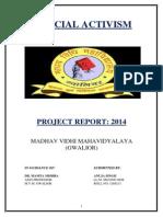 LLM 2nd Sem. project (JUDICIAL ACTIVISM).docx