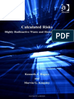 Calculated risks highly radioactive waste and homeland security.pdf