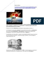 Liberación de Patentes Para La Energía Libre Mundial