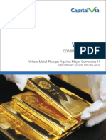 Bullion Commodity Report for the Week