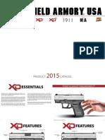 2015 Springfield Armory Catalog
