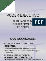 3) Poder Ejecutivo