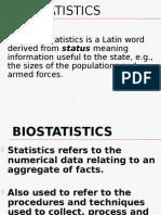 Descriptive Statistics (2)