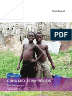 Consortium of British Humanitarian Agencies (CBHA) mid-term review