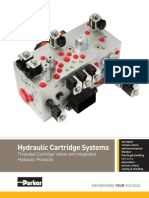 Parker Hydraulic Cartridge Systems