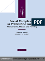 Social Complexity in Prehistoric Eurasia. Monuments, Metals, And Mobility