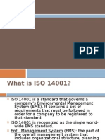 ISO 14001 and ems