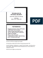 Stanford MSE293 National Security