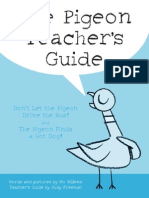 The pigeon teacher's guide
