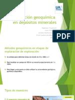 Prospección geoquimica en depósitos minerales.pptx