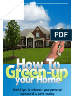 How to Green-up Your Home