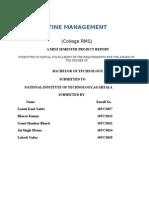 Timetable Generator