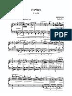 Beethoven, Rondo in C Op. 51 No. 1