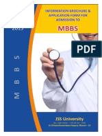 JSS Medical College Prospectus