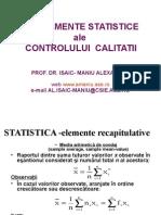 Fundame Ale Controlului Statistic