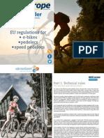 Bike Europe Whitepaper Speed e Bike Regulations 2