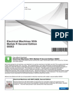 Electrical Machines With Matlab r Second Edition 90063