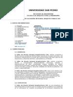 Silabus de Taller de Diseño Integral Arquitectonico Viii Hoy 08.04.15