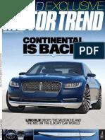 Motor Trend - June 2015 USA