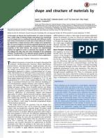 Ingeniería de La Forma y Estructura de Los Materiales de Corte Fractal