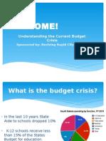 blog budget presentation