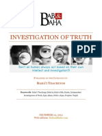 Investigation of Truth
