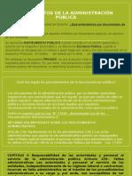 Documentos de La Administración Pública