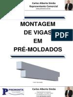 Montagem de Vigas em Pré-Moldados