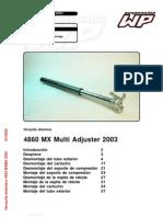 KTM Manual Rep. Susp. Delantera
